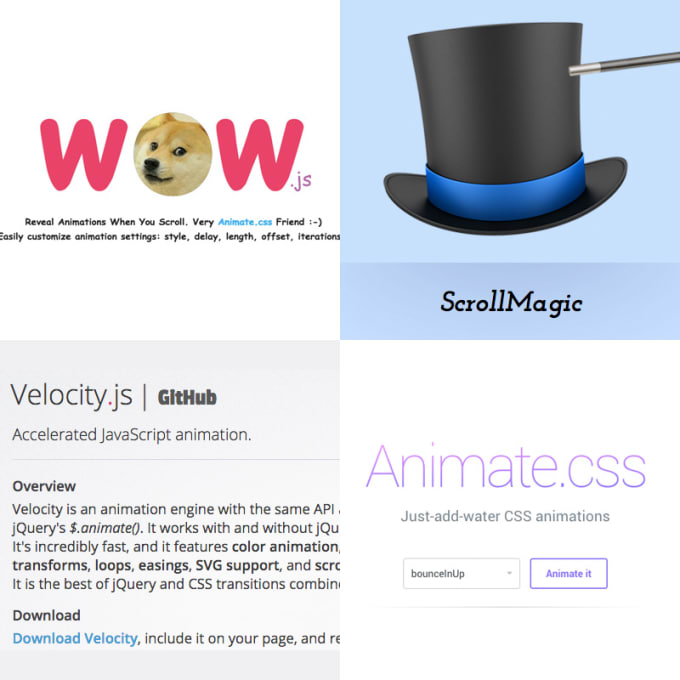 add animation to your site