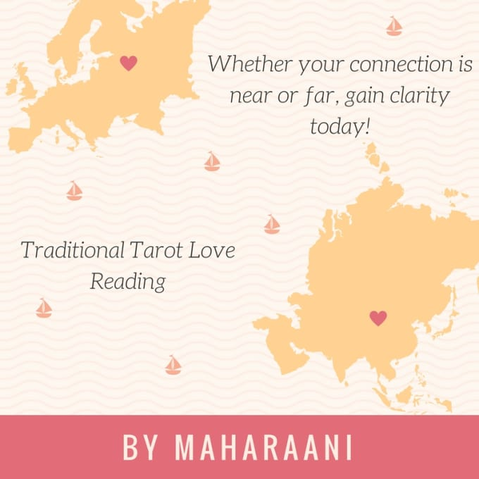 give you a traditional tarot card love reading
