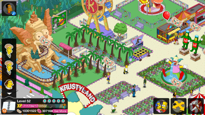 how to get more donuts on simpsons tapped out