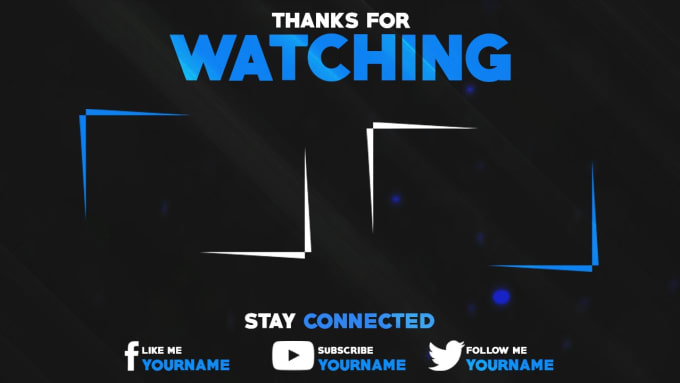 Make a awesome outro end screen animation by killeryash for Outro image