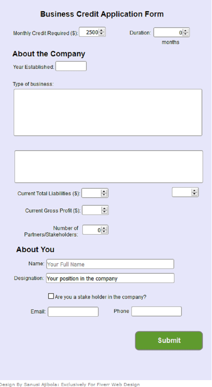 Develop Online Form Feedback Questionnaire Survey Quiz Poll By