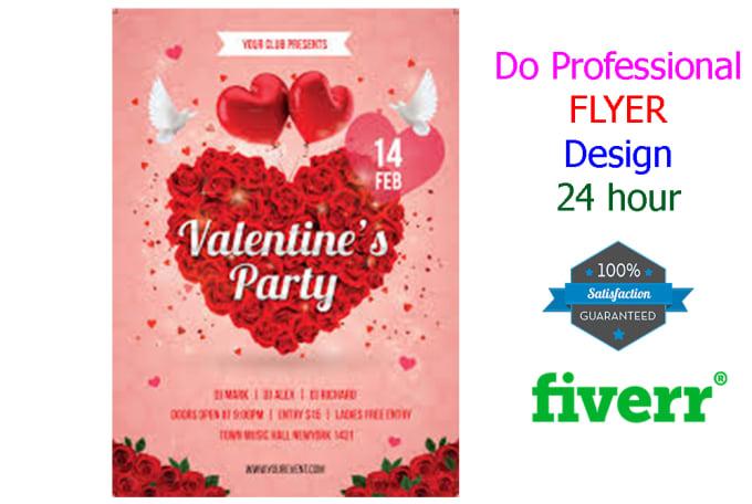 Create Your Flyer Or Brochure Fiverr