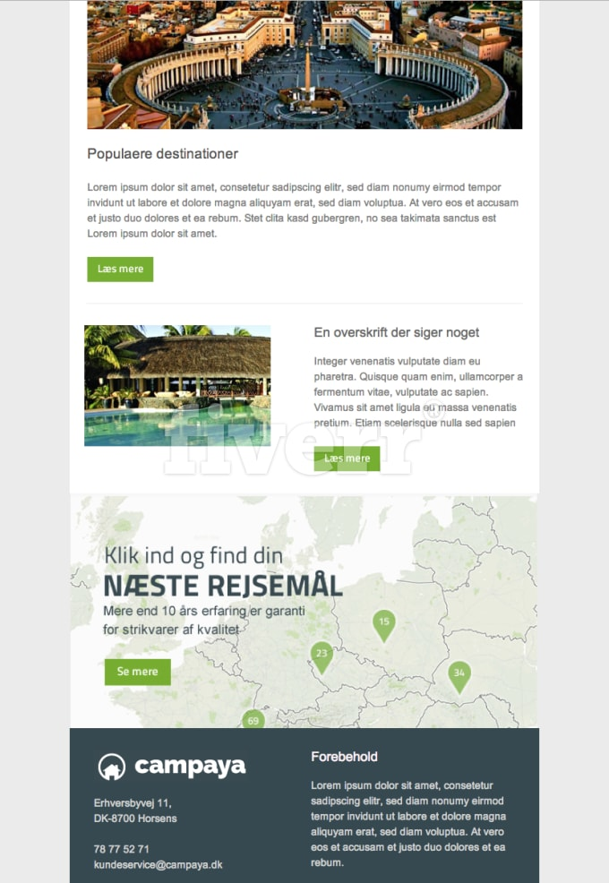 Design A High Quality Responsive Html Email Template For Your