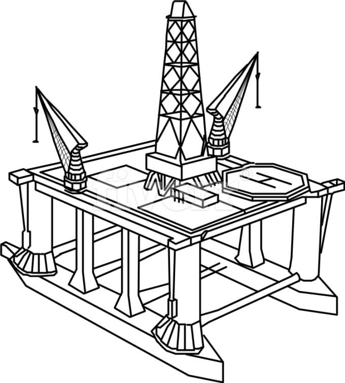 Draw A Diagram Or A Stencil Using Ms Visio By Knas11