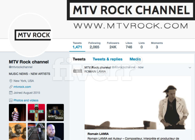 do the best music promotion with MTVrock