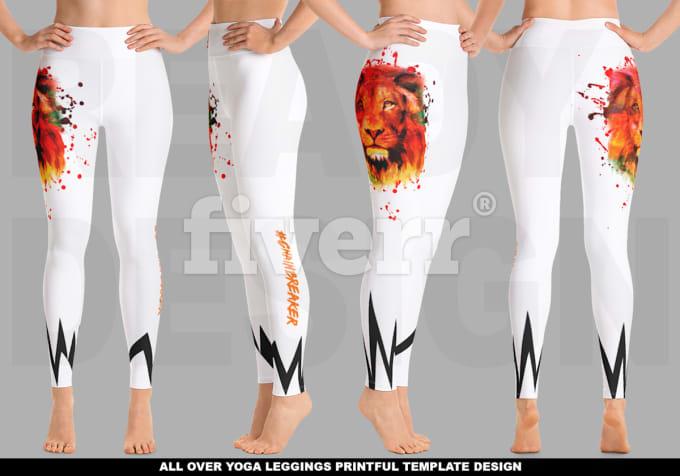 3 CREATE A PRINTFUL LEGGINGS PRINT FILE IN t