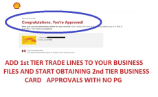 Get 6 business trade line approvals with 3 business listings by i will build business credit 10 line approvals and business listing reheart Image collections