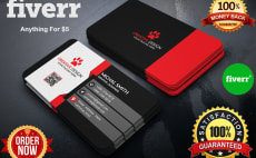 I will design professional business card fiverr i will do unique business card design reheart Image collections