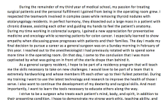 Edit Your Medical School Personal Statement