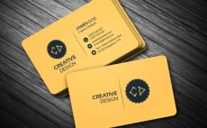 Business card design freelance services online fiverr i will create amazing business card design reheart Gallery