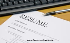 Fiverr / Search Results for \'resume writer\'