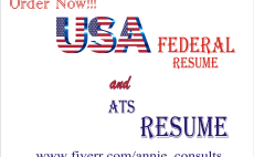 i will provide usajobs and federal resume writing service