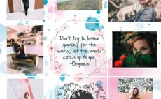 Wrap text around your photo by Cathykacz