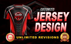 c168579d008 I will do custom jersey design or sublimation jersey