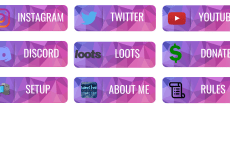 Cute Twitch Panels