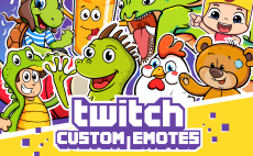 24 Best Twitch Emotes Services To Buy Online | Fiverr