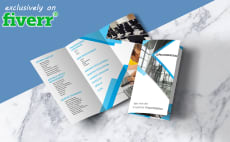 24 Best Tri Fold Brochure Services To Buy Online | Fiverr