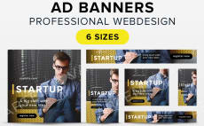 Buy Custom Banner Ad Design Services Fiverr