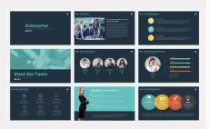 design creative and professional powerpoint presentation by grafixtykon