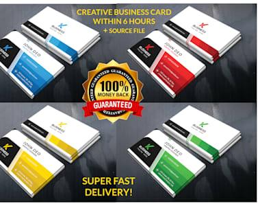 Do Creative Business Card Design By Shamim2276