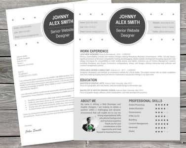 Design A Sleek Resume And Cv For You By Mariongroup