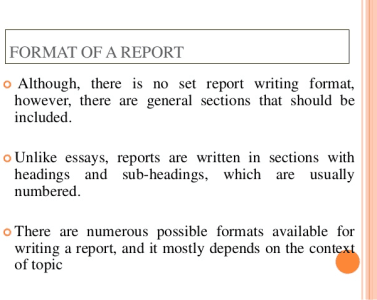 write a report and will do a perfect formatting by sarmadghummann