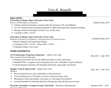 resumes and cover letters by ebru142