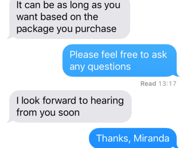 fake a text conversation with you by miranda2504
