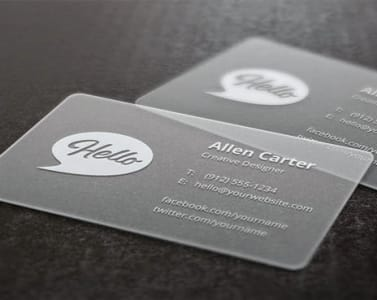 Do pro looking transparent business card template by goodguyrelax fbccfo Image collections