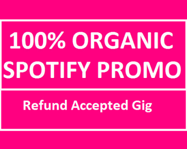 do organic spotify promotion
