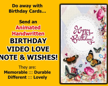 Do Animated Handwritten Birthday Video Love Note And Wishes By Zzkielbenson
