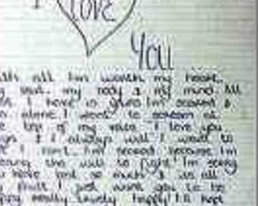 Write a letter to your girlfriend by Gordonjay