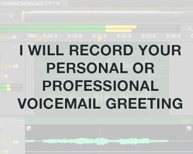 Record your female business or casual voicemail greeting by ravie13 m4hsunfo
