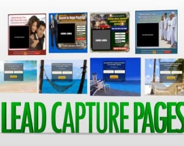 lead capture page