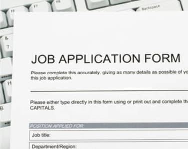 fill out those long complicated online job application forms using