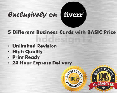 Business cards express delivery best business 2017 design 3 diffe amazing business cards with basic by hddesign12 colourmoves