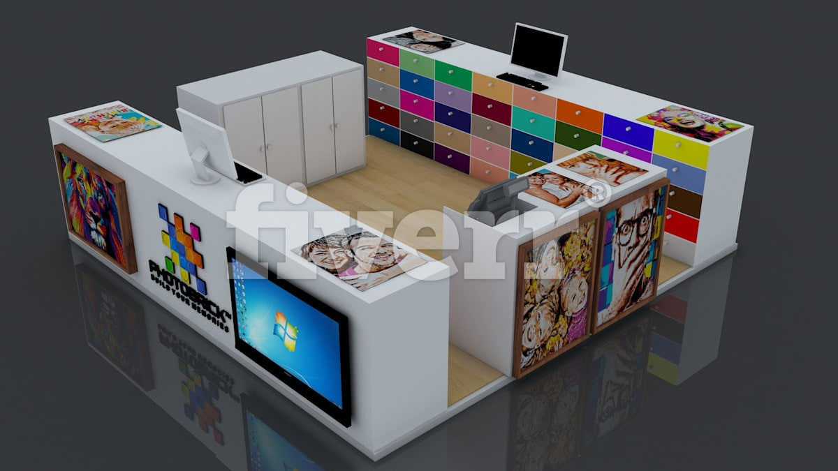3d Exhibition Booth Design : Design your d exhibition booth stall kiosk or stand by star lab