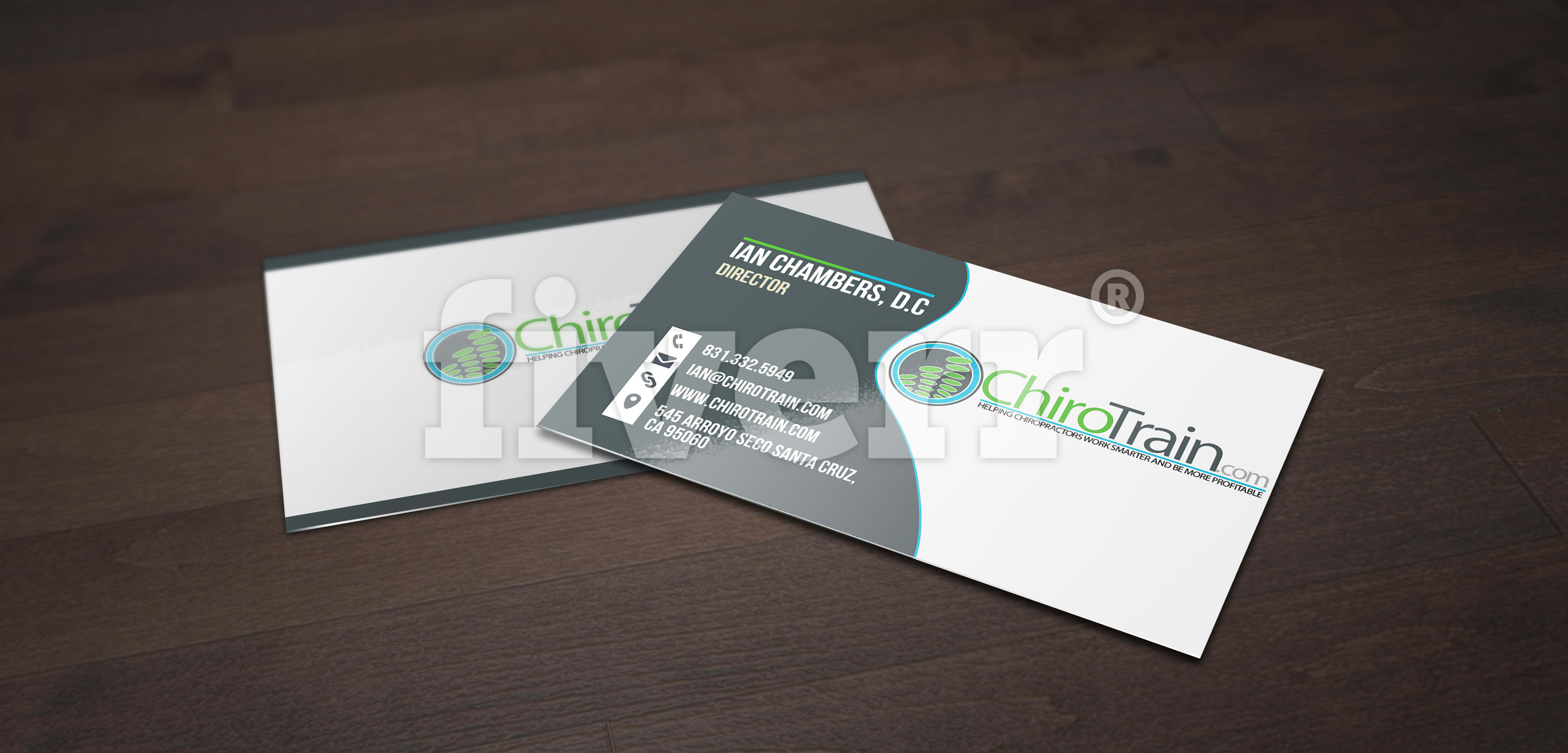 Create a professional business card for you by supergfx50 colourmoves