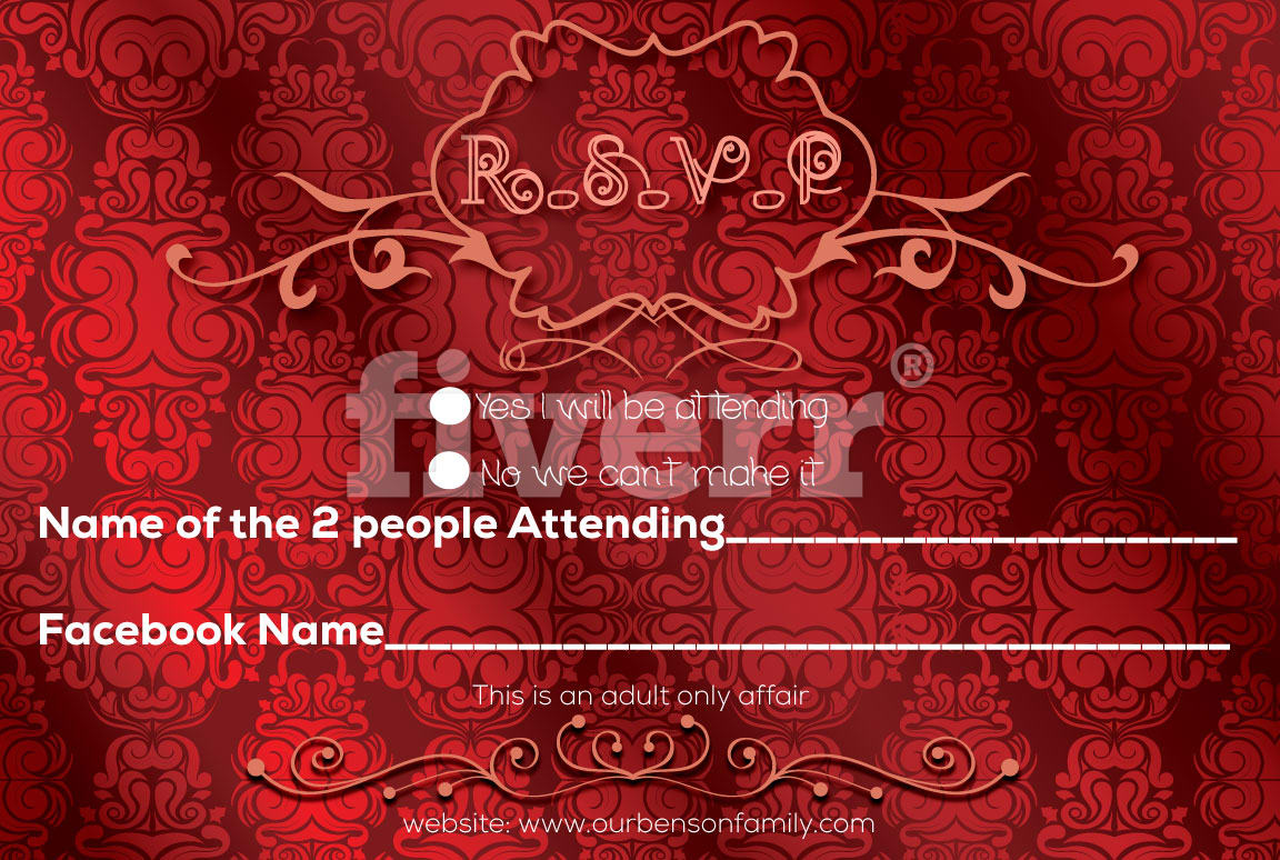 Design your events and invitations by Daniart