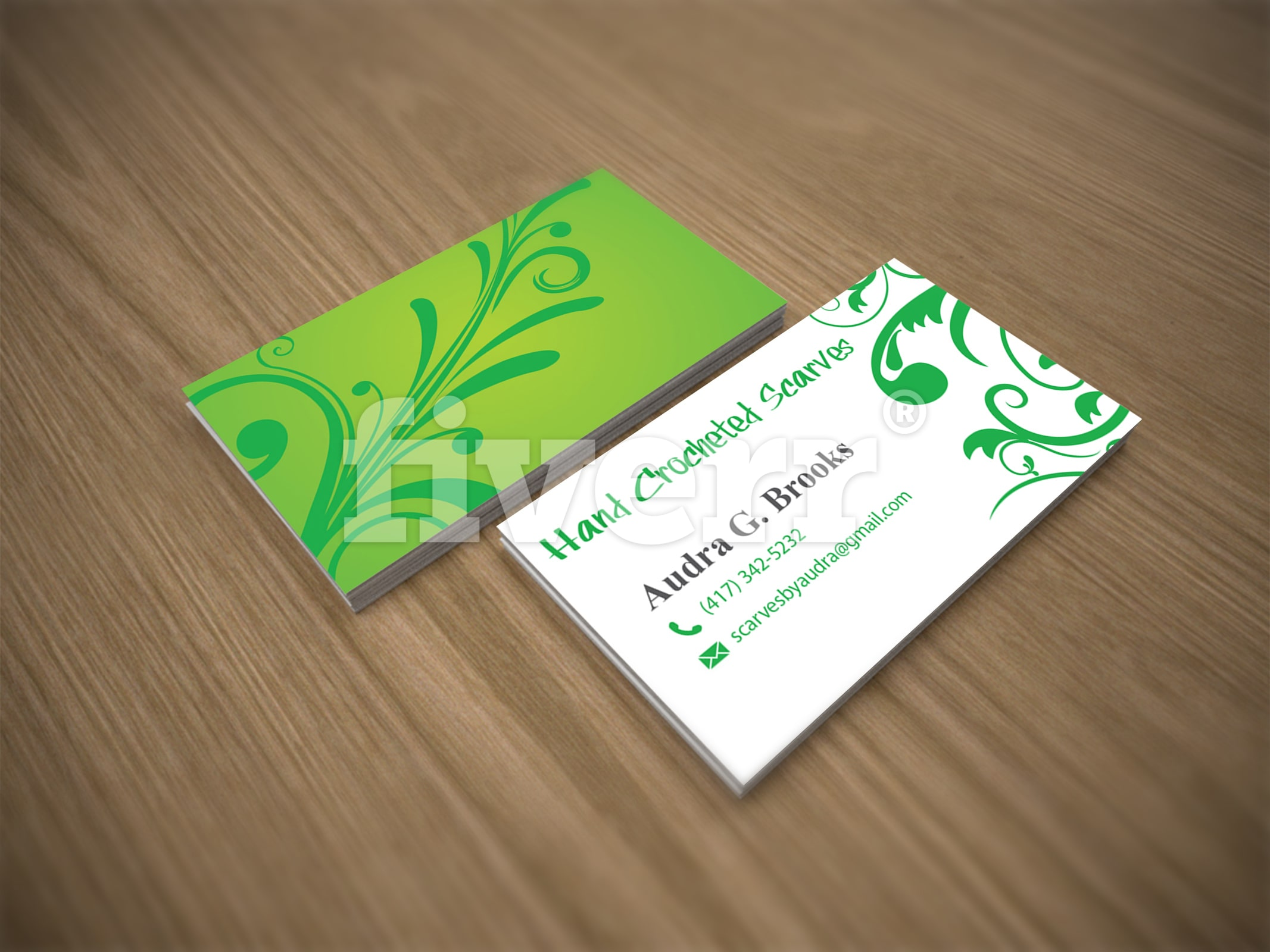 Design a unique and professional looking business card by Jarstickme