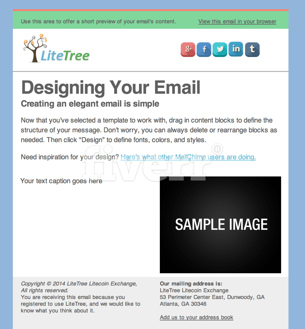 Create A Killer Mailchimp Template By Morynne