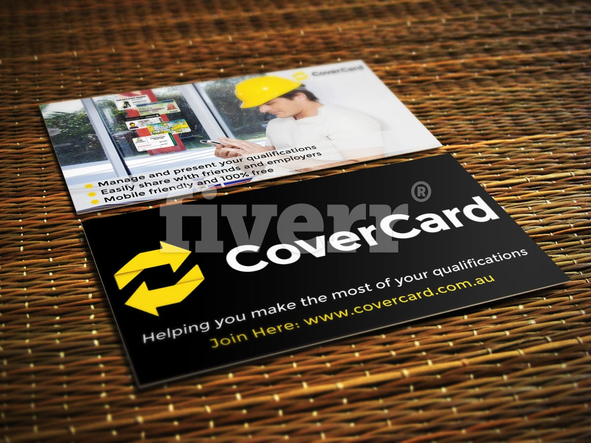Create your creative business card design by sypher reheart Images