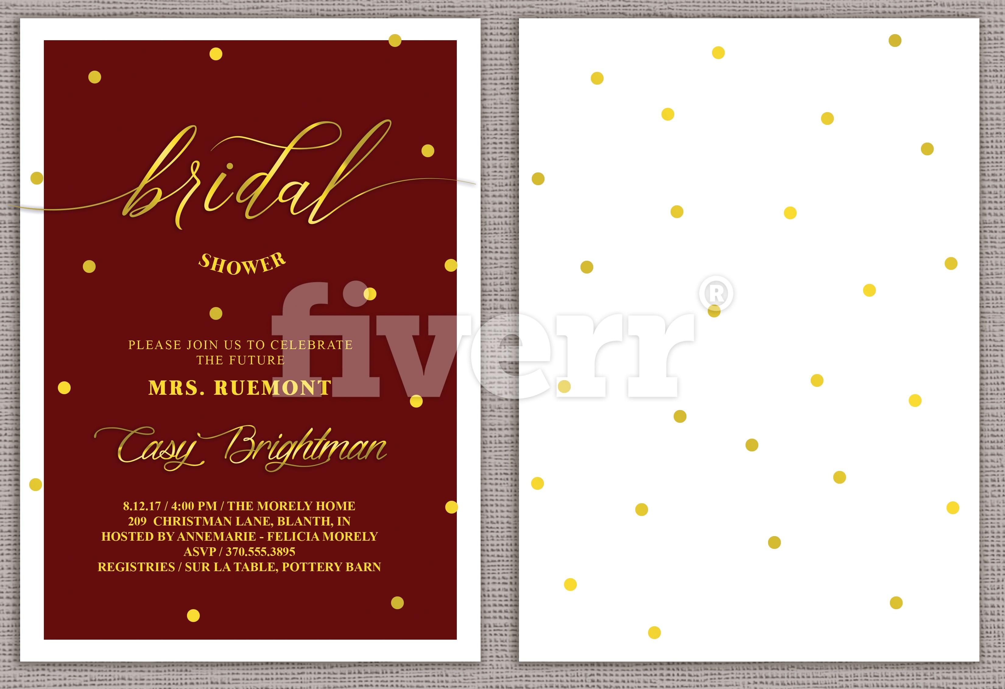 Design beautiful wedding invitations by Creativethings