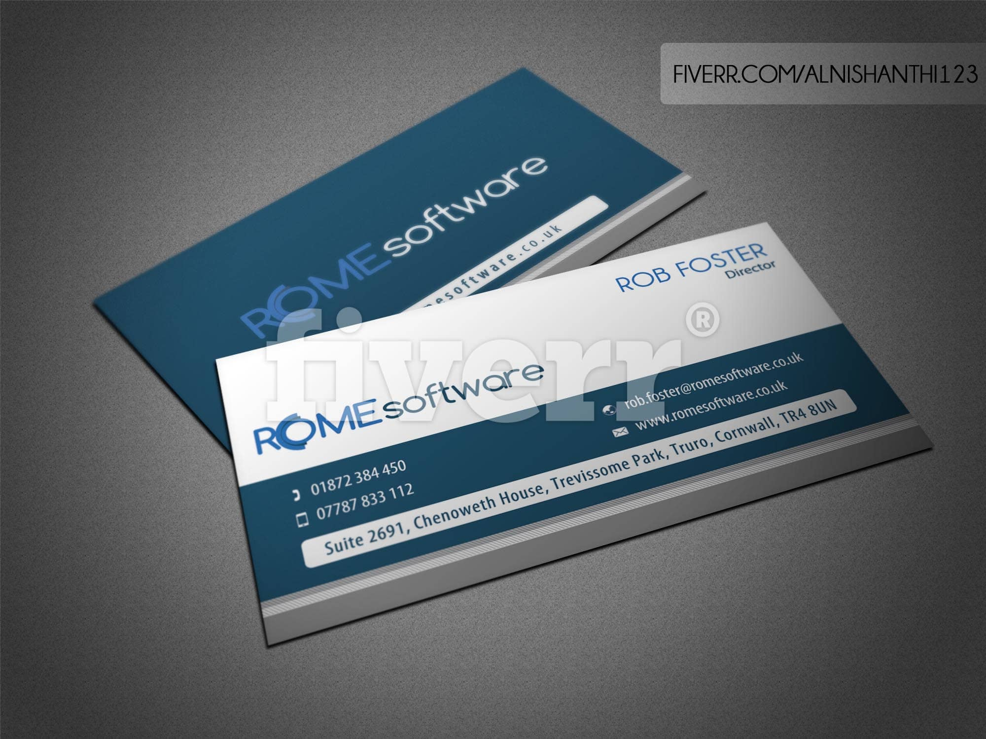 Design professional double side business card with unlimited design professional double side business card with unlimited revisions by alnishanthi123 reheart Image collections