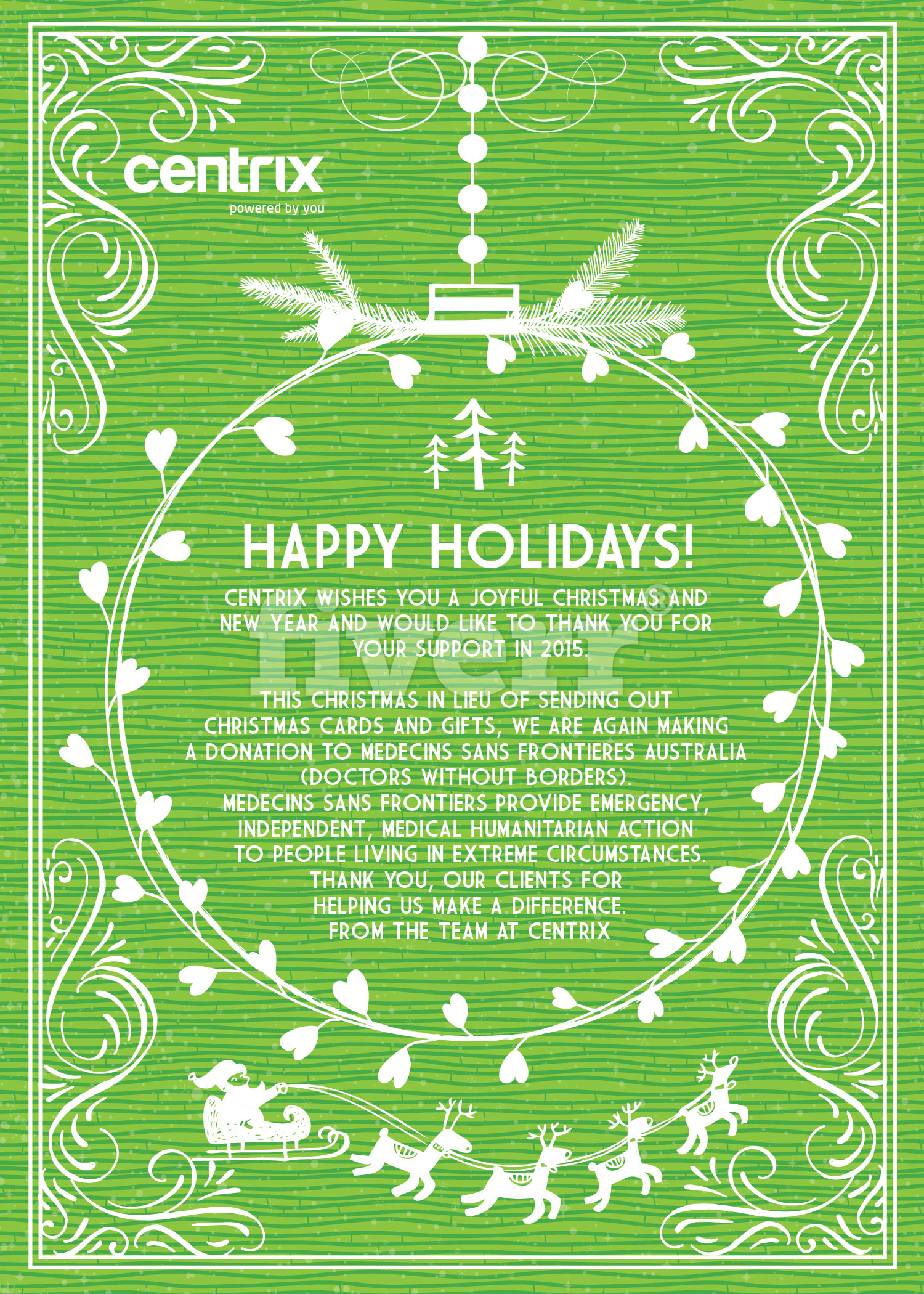 Do Your Christmas Card Or Holiday Poster By Maraveiler