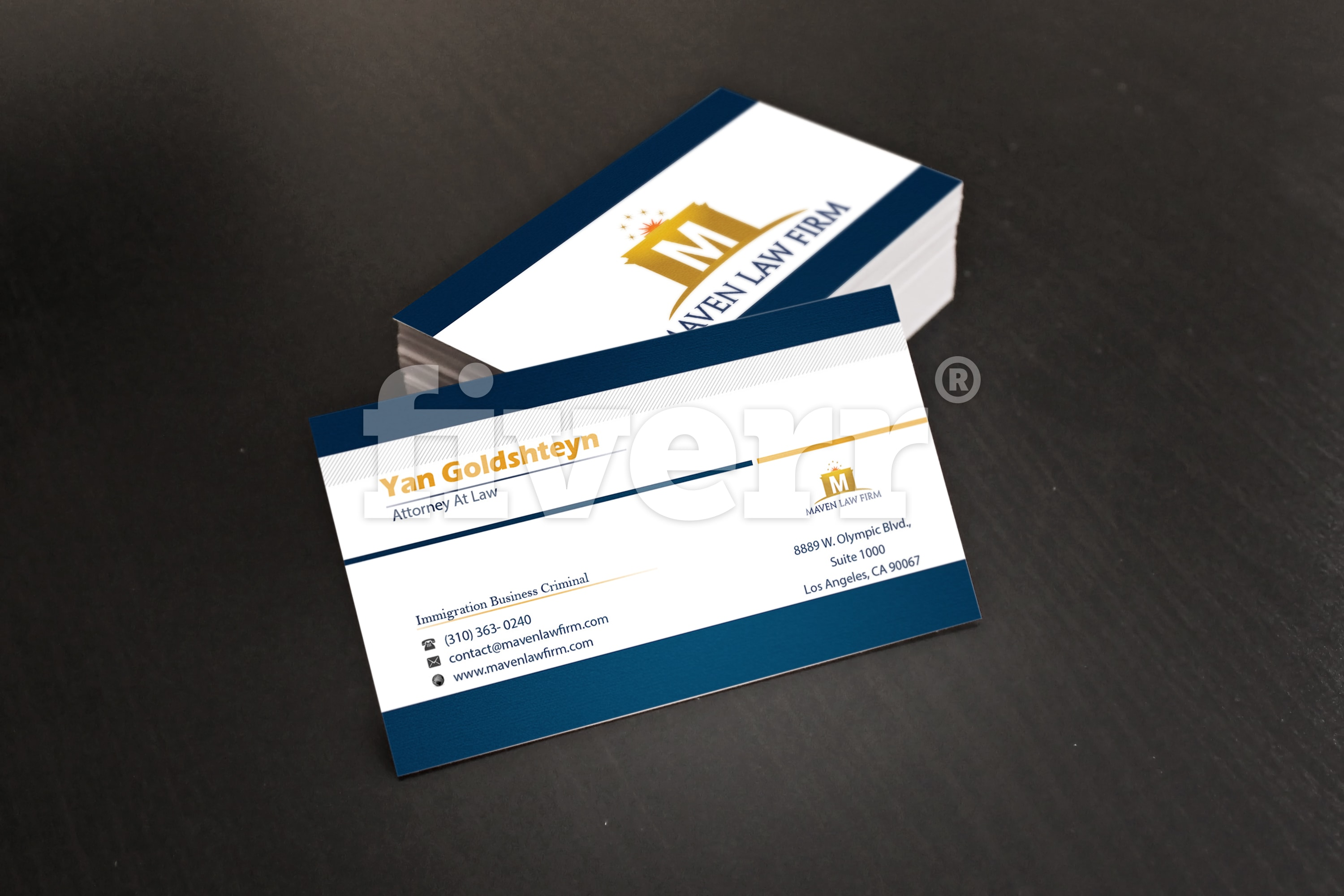 Design an amazing double sided business card by Neksofficial