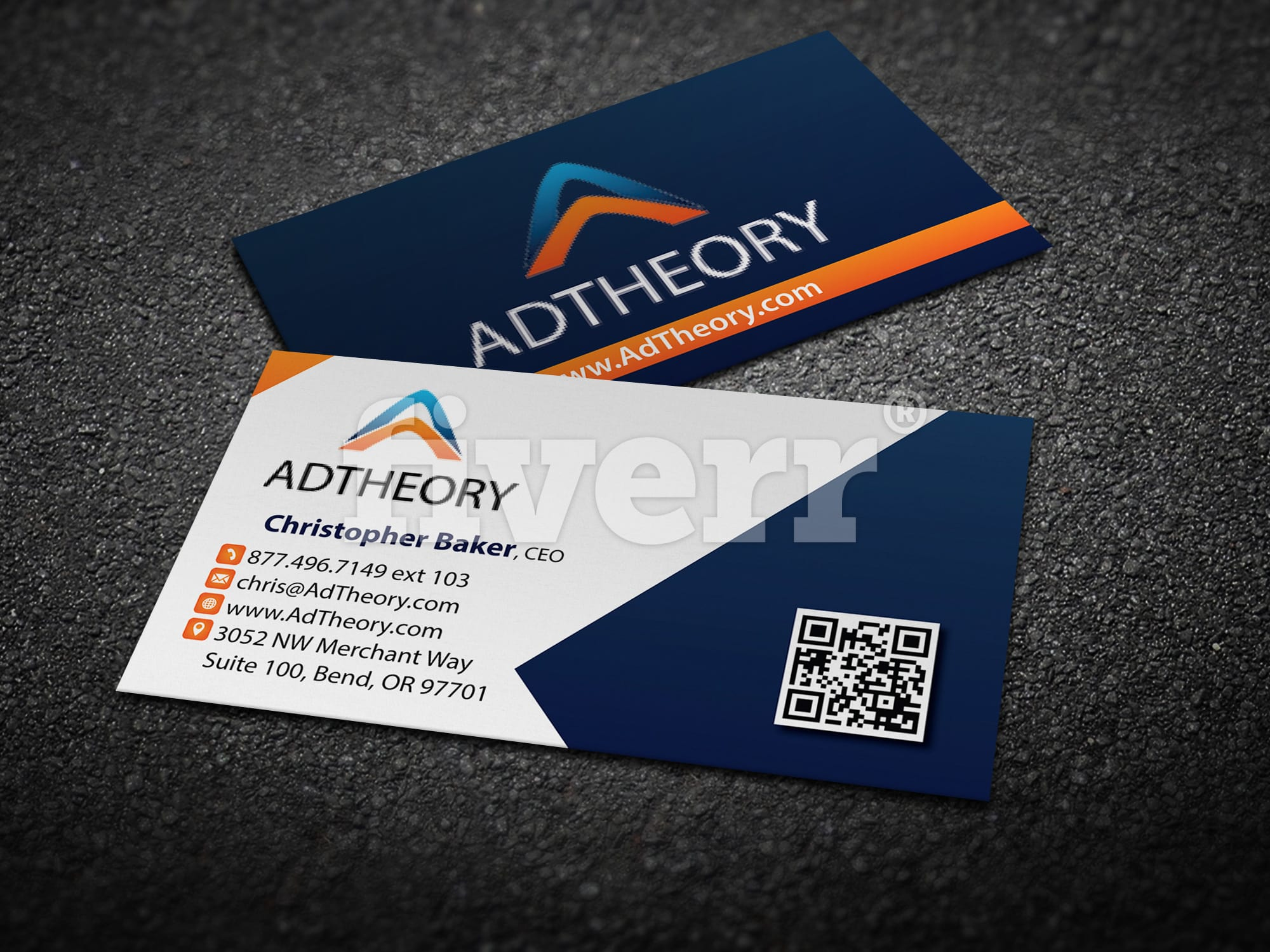 Design professional business card by gfxmaster01 colourmoves