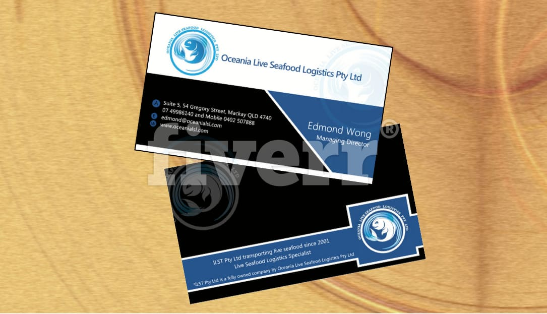 Design amazing ready to print double sided business card by imagework reheart Image collections