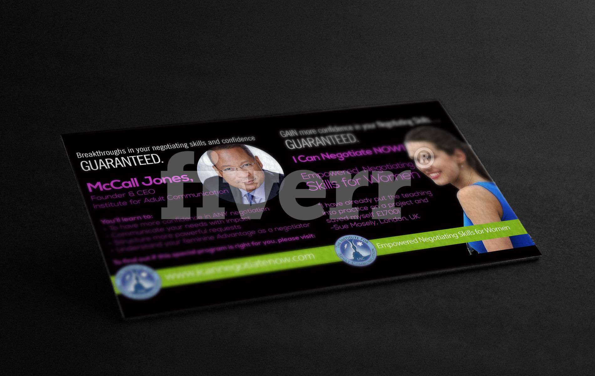 Unique and professional dual sided business cards reheart Choice Image