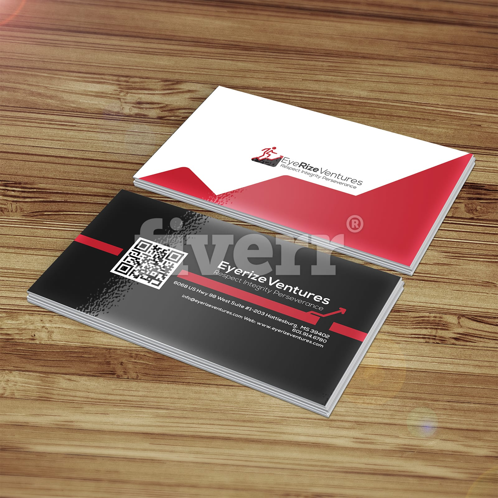 Unique and professional dual sided business cards
